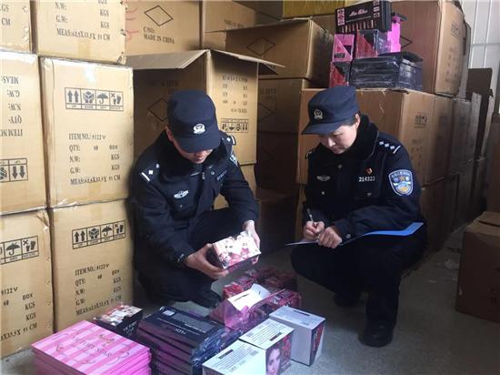 南京警方捣毁一特大制售假化妆品团伙